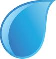 waterdrop resize vector image vector image