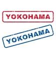 Yokohama Rubber Stamps vector image vector image