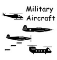 1340 military aircraft vector image