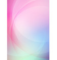 abstract curved colors background vector image vector image