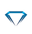 diamond icon diamond icon eps10 diamond icon web vector image vector image