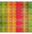 Geometric hipster retro background vector image vector image