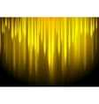 Glow yellow stripes abstract background vector image