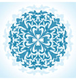 radial floral pattern - vector image vector image