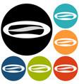 sausage icon vector image