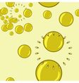 seamless background with bubble blower vector image vector image