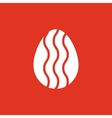 The egg icon Easter egg symbol UI Web Logo vector image vector image