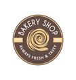 vintage style bakery shop label badge emblem logo