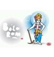 Lord Shri Balaram vector image