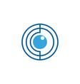 c letter core icon vector image vector image