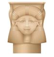 hathor column ancient egypt capital