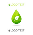 Nature and ecology symbol vector image vector image