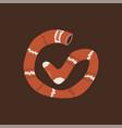 pippi longstocking icon stocking logo eps vector image vector image