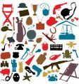 random objects vector image vector image