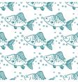 Seamless pattern fish Perch vector image
