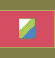 abruzzo flag vector image vector image