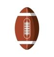american football balloon isolated icon vector image vector image