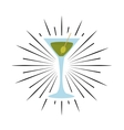 cup drink party isolated icon vector image vector image