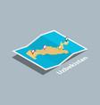 explore uzbekistan maps with isometric style and vector image vector image