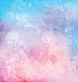 Grunge watercolor texture background vector image vector image