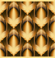modern abstract 3d seamless pattern textured vector image