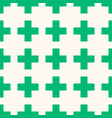 seamless pattern repeating geometric elements vector image