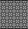 tile black and white pattern or background vector image vector image