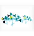 Triangle pattern composition abstract background