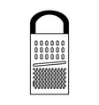 grater cooking process kitchenware and utensil vector image