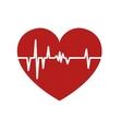 heart cardiology medical vector image