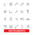 instrumentsequipment appliance gadget gear vector image vector image