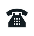 phone icons telephone symbol vector image vector image