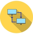 Sharing Systems vector image