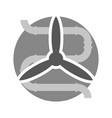 ventilation minimal symbol vector image