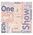 The Most Hated Judge text background wordcloud