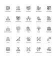 business and finance line icon 18 vector image vector image