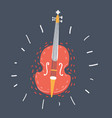 classic musical instrument vector image vector image