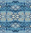 ethnic bohemian arabesque pattern zigzag vector image