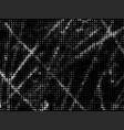 grunge halftone texture overlay background vector image vector image