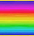 irregular striped rainbow pattern vector image