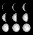 Moon phases vector | Price: 1 Credit (USD $1)