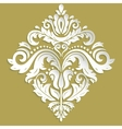 Oriental Pattern With 3D Elements vector image vector image