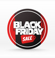 black friday sale background banner template vector image vector image