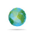 earth abstract isolated vector image