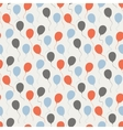 Festive pattern with balloons vector image