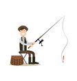 hunter people concept flat vector image vector image