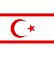 Northern Cyprus vector image vector image