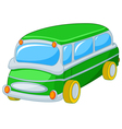 Toy Bus vector image vector image