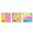 abstract wavy background in pastel colors vector image