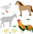 Farm animals set 2 vector | Price: 1 Credit (USD $1)